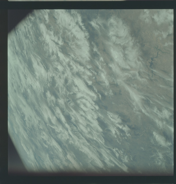 AS09-21-3309 - Apollo 9 - Apollo 9 Mission image - Earth Observations - Texas and Mexico