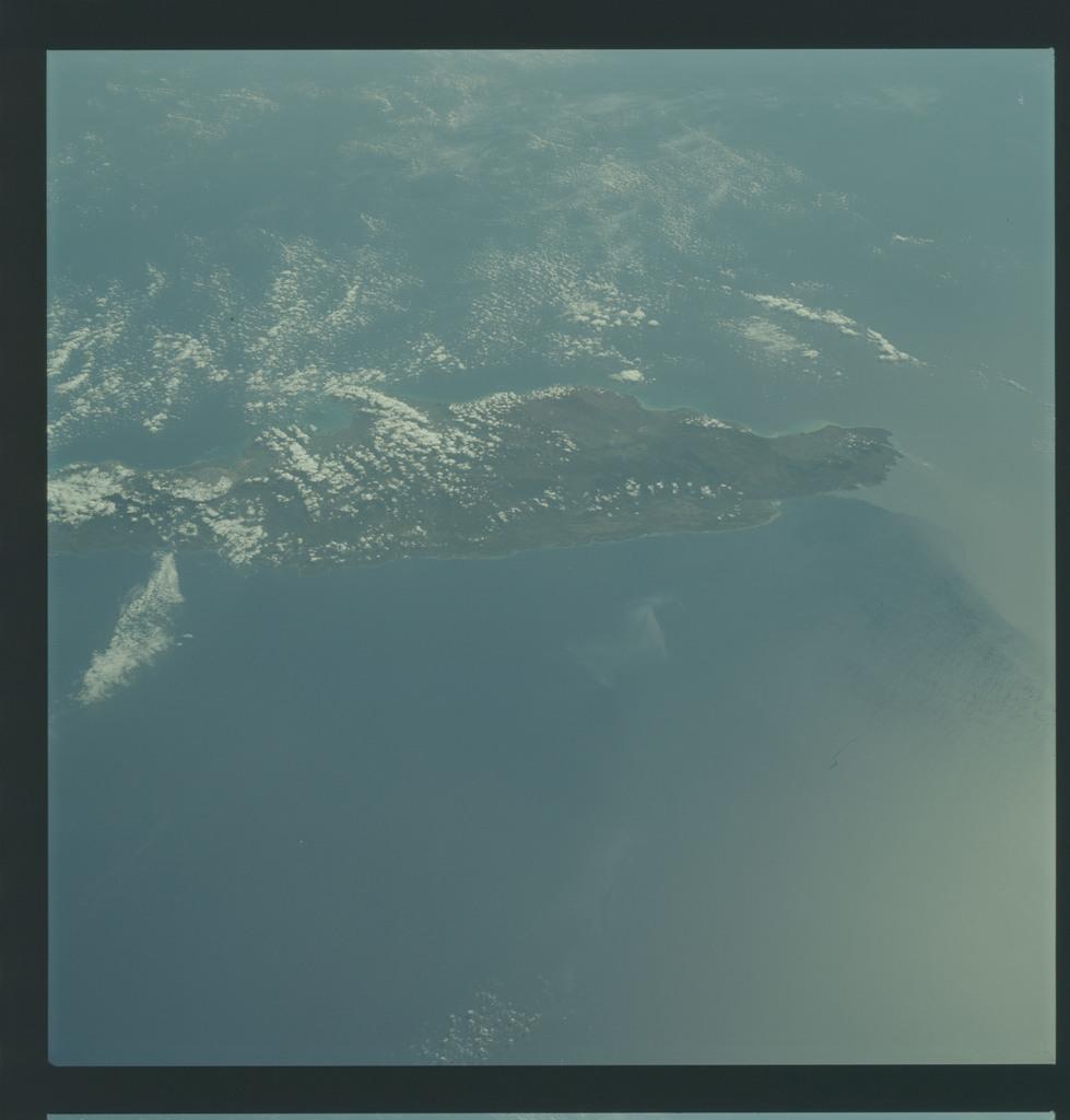 AS09-21-3315 - Apollo 9 - Apollo 9 Mission image - Earth Observations - Jamaica