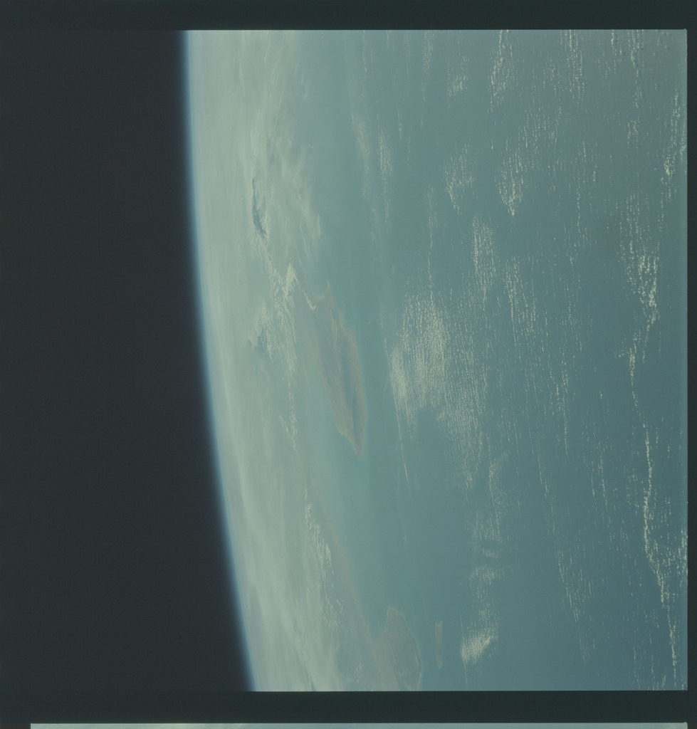 AS09-21-3320 - Apollo 9 - Apollo 9 Mission image - Earth Observations - Gulf of Venezuela and Point Gallinas