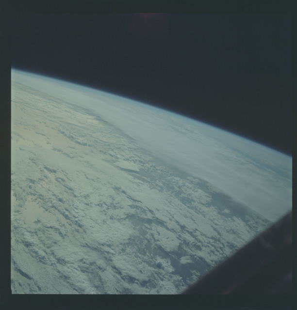 AS09-22-3353 - Apollo 9 - Apollo 9 Mission image - Earth Observations - Frontal zone over water