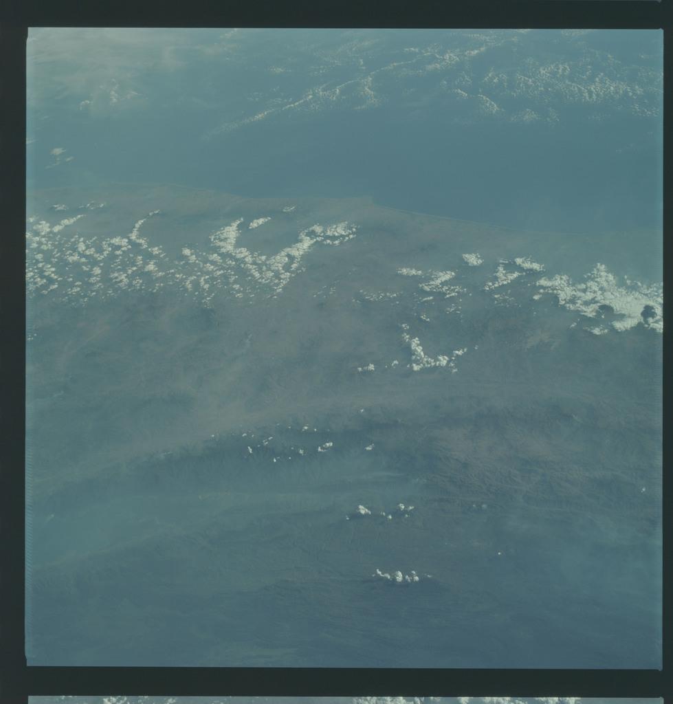 AS09-22-3371 - Apollo 9 - Apollo 9 Mission image - Earth Observations - Guatemala, El Salvador and Honduras