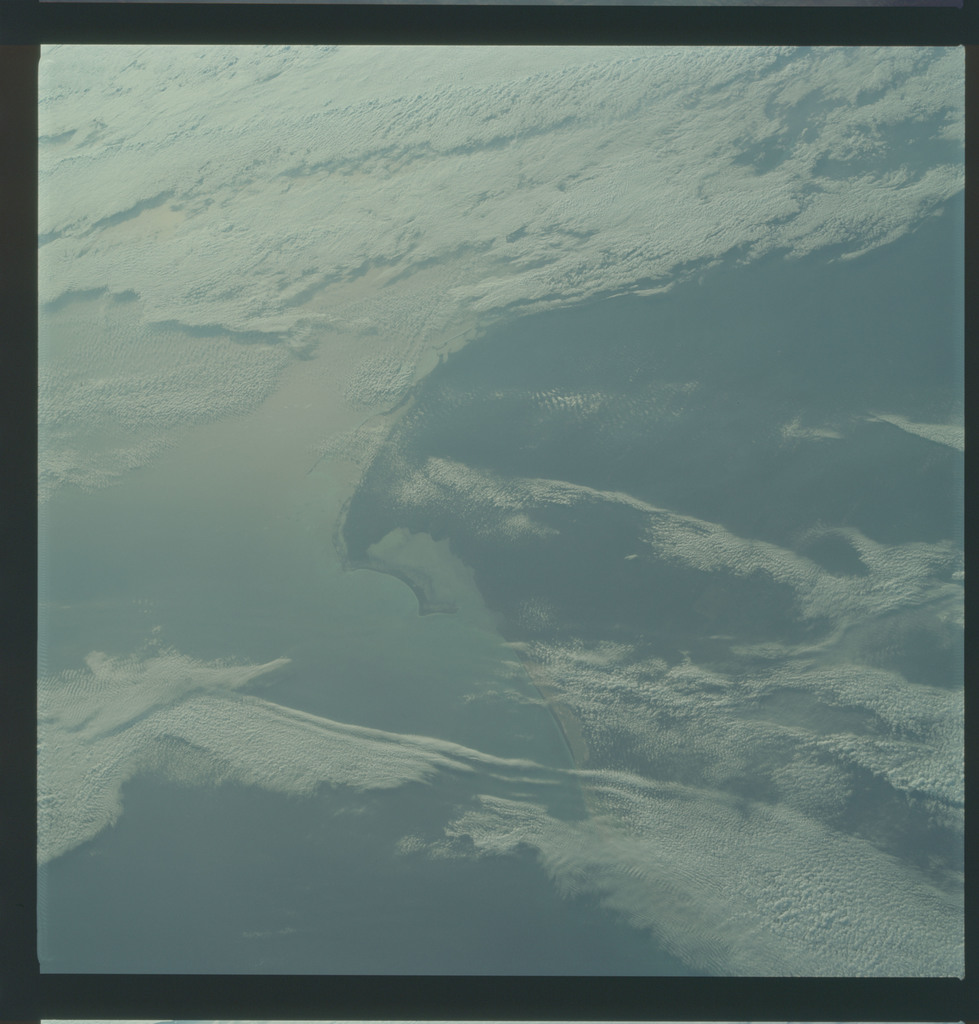 AS09-22-3382 - Apollo 9 - Apollo 9 Mission image - Earth Observations - Yucatan Peninsula