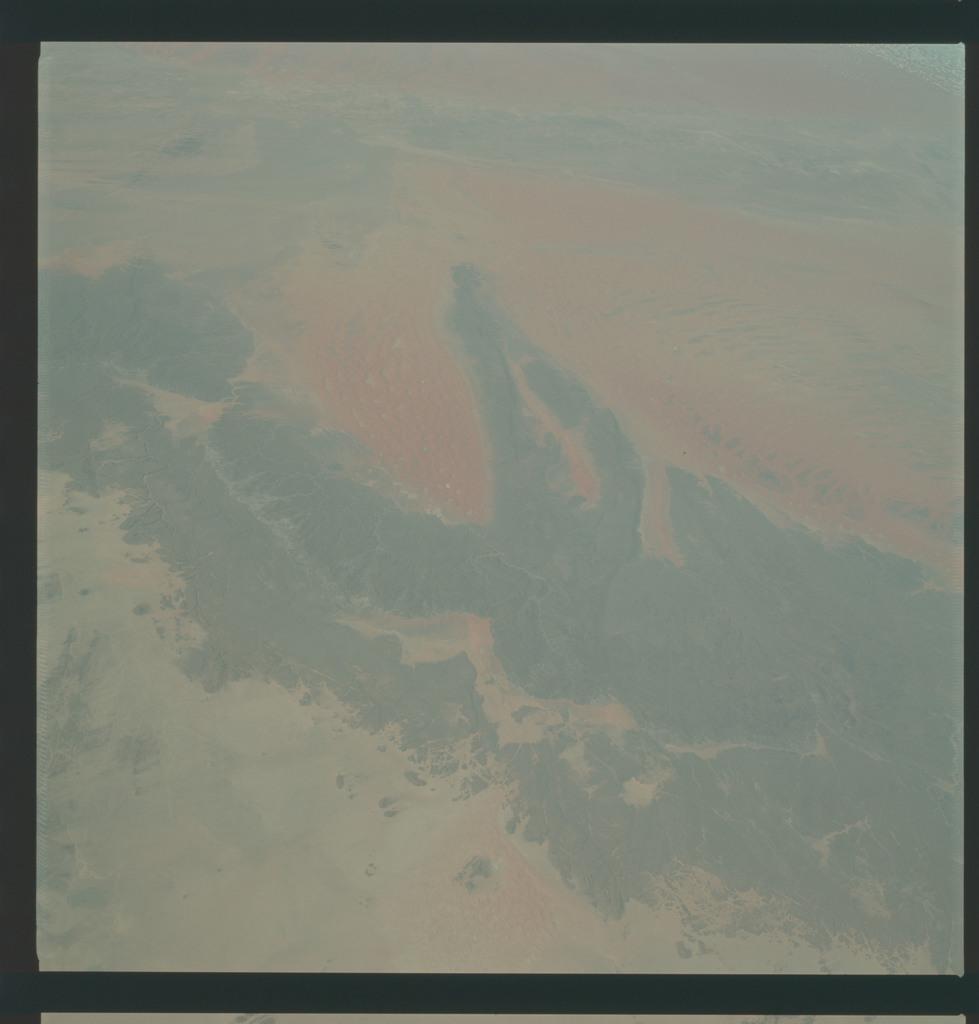 AS09-22-3397 - Apollo 9 - Apollo 9 Mission image - Earth Observations - Algeria
