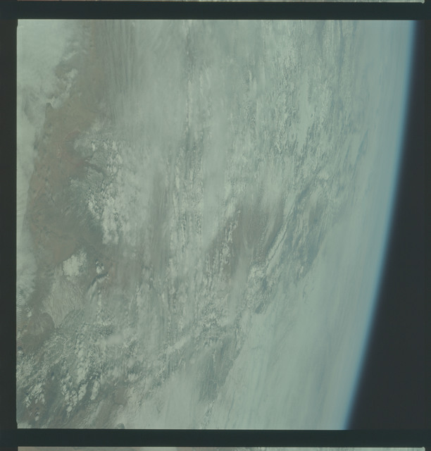 AS09-22-3446 - Apollo 9 - Apollo 9 Mission image - Earth Observations - New Mexico and Colorado