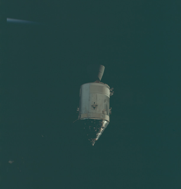 AS09-24-3635 - Apollo 9 - Apollo 9 Mission image - Command Module