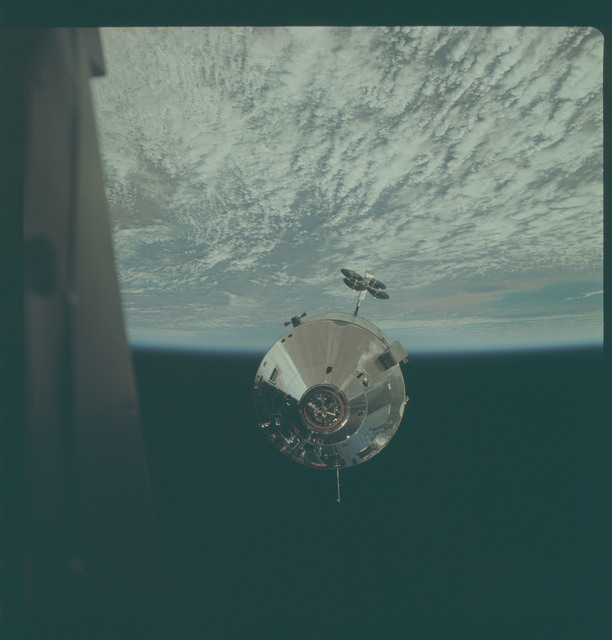 AS09-24-3654 - Apollo 9 - Apollo 9 Mission image - Command Module