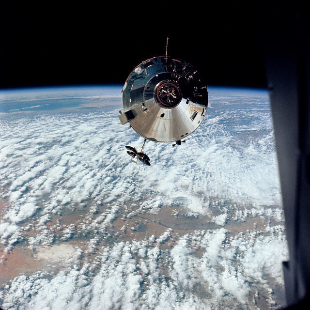 AS09-24-3657 - Apollo 9 - Apollo 9 Mission image - Command Module