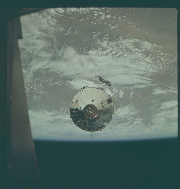 AS09-24-3660 - Apollo 9 - Apollo 9 Mission image - Command Module
