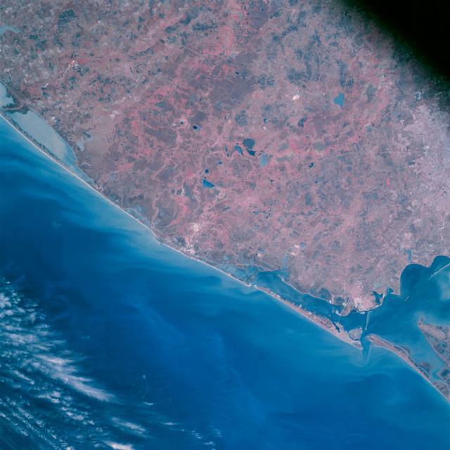 AS09-26A-3728A - Apollo 9 - Apollo 9 Mission image - S0-65 Multispectral Photography - Texas