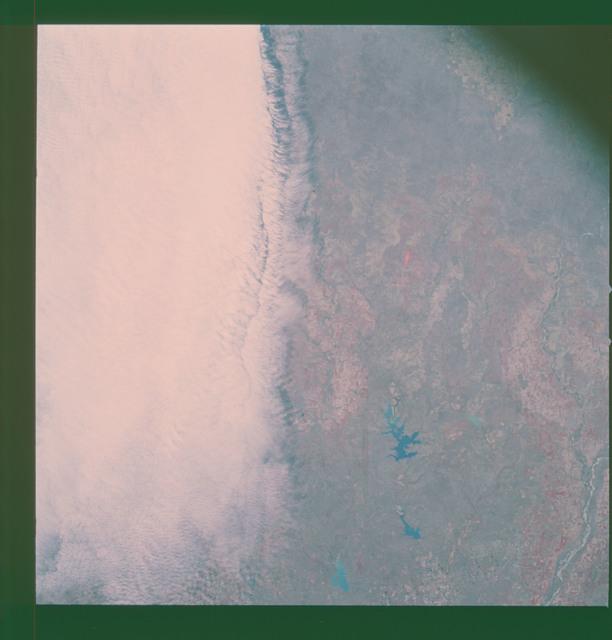 AS09-26A-3789A - Apollo 9 - Apollo 9 Mission image - S0-65 Multispectral Photography - Texas