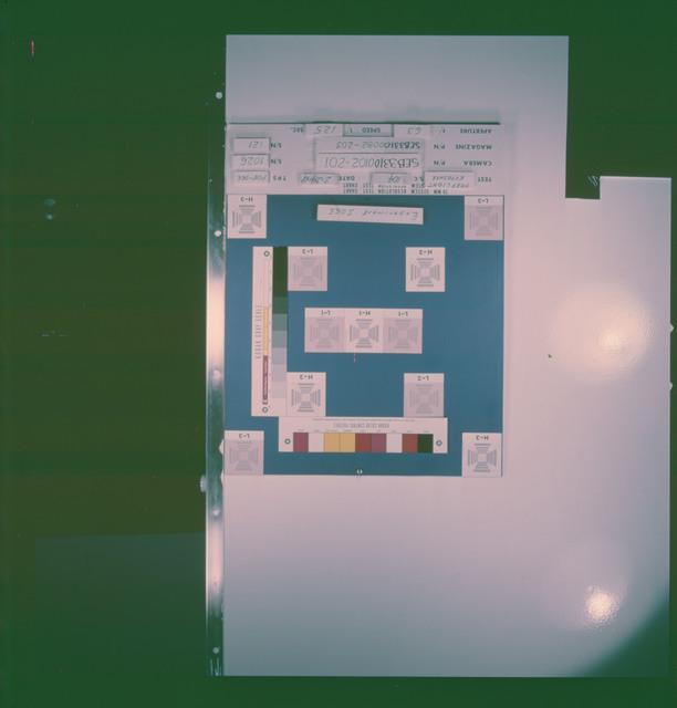 AS09-26a-chart - Apollo 9