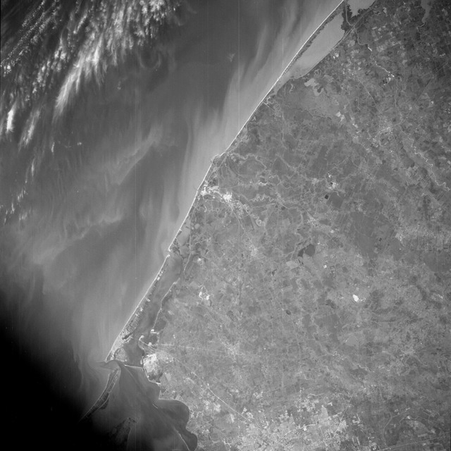AS09-26B-3728B - Apollo 9 - Apollo 9 Mission image - S0-65 Multispectral Photography - Texas