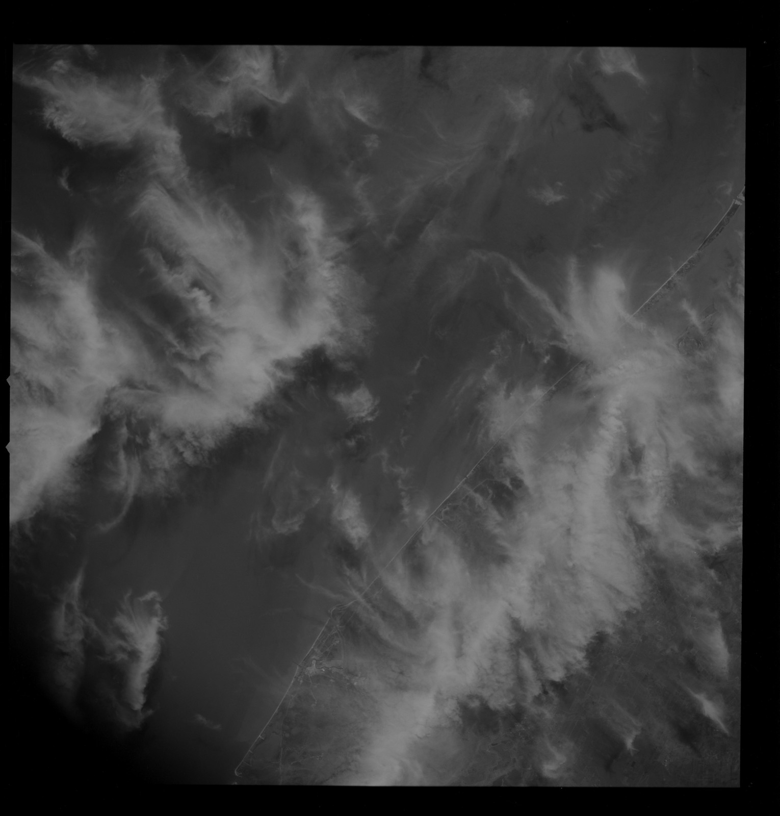 AS09-26B-3759B - Apollo 9 - Apollo 9 Mission image - S0-65 Multispectral Photography - Texas