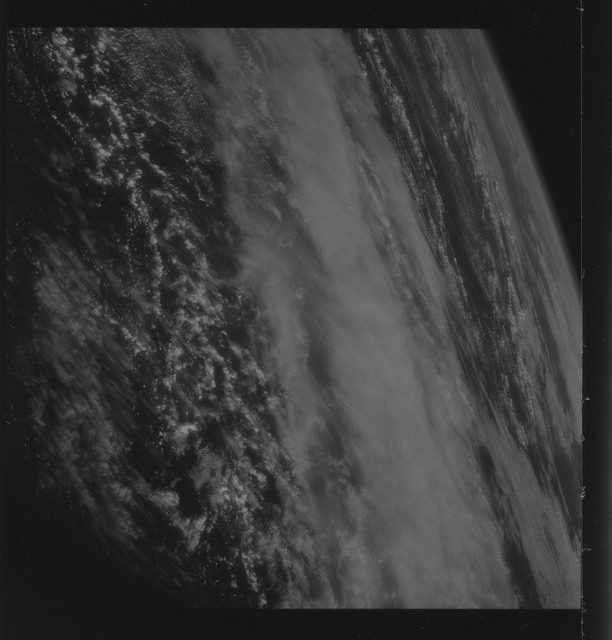 AS09-26C-3697C - Apollo 9 - Apollo 9 Mission image - S0-65 Multispectral Photography - Earth limb and clouds