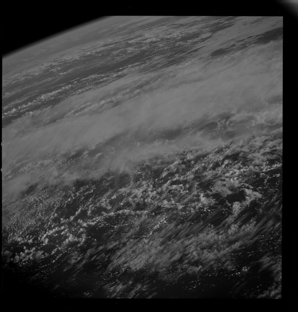 AS09-26D-3697D - Apollo 9 - Apollo 9 Mission image - S0-65 Multispectral Photography - Earth limb and clouds