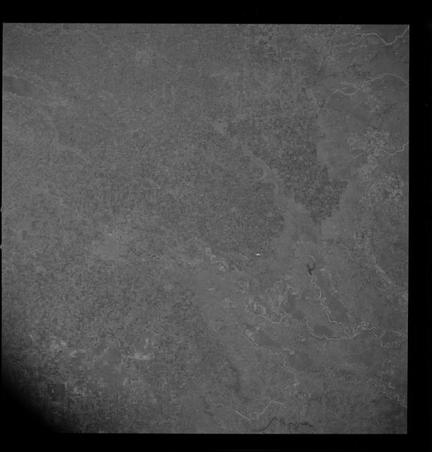 AS09-26D-3808D - Apollo 9 - Apollo 9 Mission image - S0-65 Multispectral Photography -  Texas