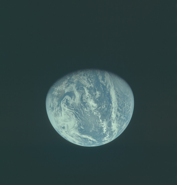 AS11-36-5341 - Apollo 11 - Apollo 11 Mission image - Earth view over Central and North America