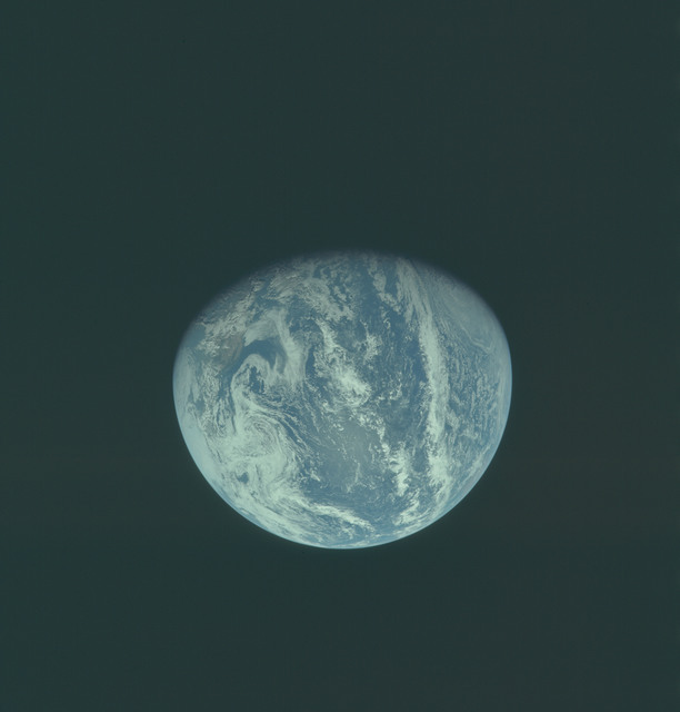 AS11-36-5342 - Apollo 11 - Apollo 11 Mission image - Earth view over Central and North America