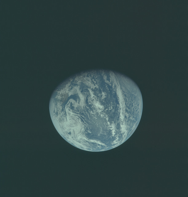 AS11-36-5343 - Apollo 11 - Apollo 11 Mission image - Earth view over Central and North America