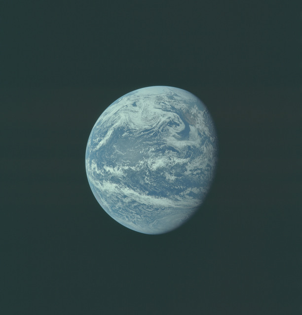 AS11-36-5344 - Apollo 11 - Apollo 11 Mission image - Earth view over Central and North America