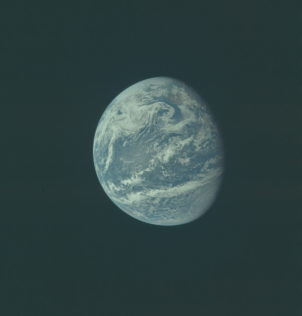 AS11-36-5347 - Apollo 11 - Apollo 11 Mission image - Earth view over Central and North America