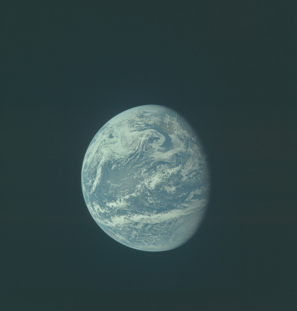 AS11-36-5348 - Apollo 11 - Apollo 11 Mission image - Earth view over Central and North America