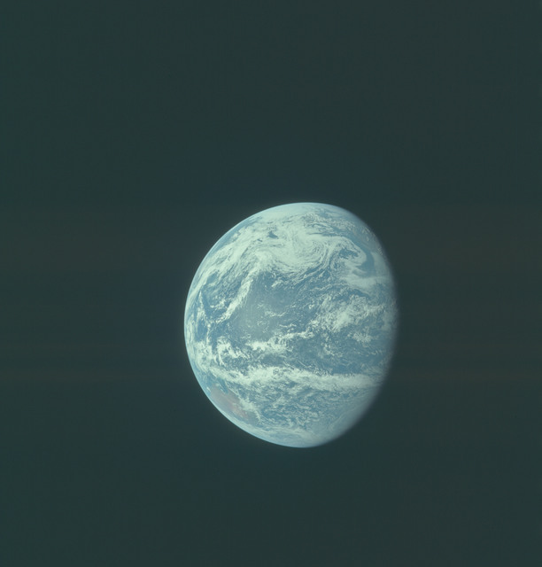 AS11-36-5349 - Apollo 11 - Apollo 11 Mission image - Earth view over Central and North America