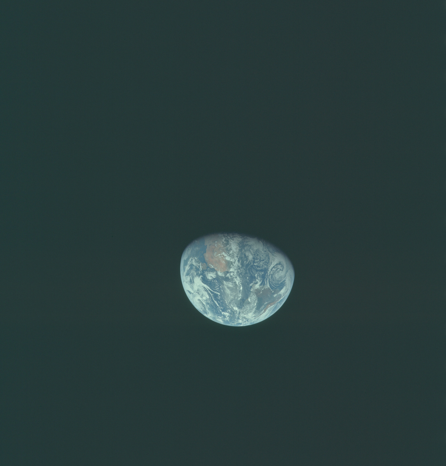 AS11-36-5356 - Apollo 11 - Apollo 11 Mission image - Earth view over Africa