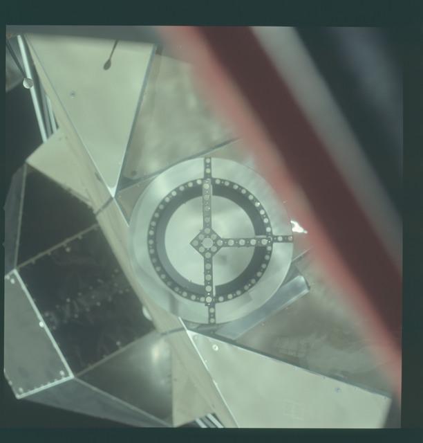 AS11-36-5363 - Apollo 11 - Apollo 11 Mission image - Lunar Module (LM) Docking Target