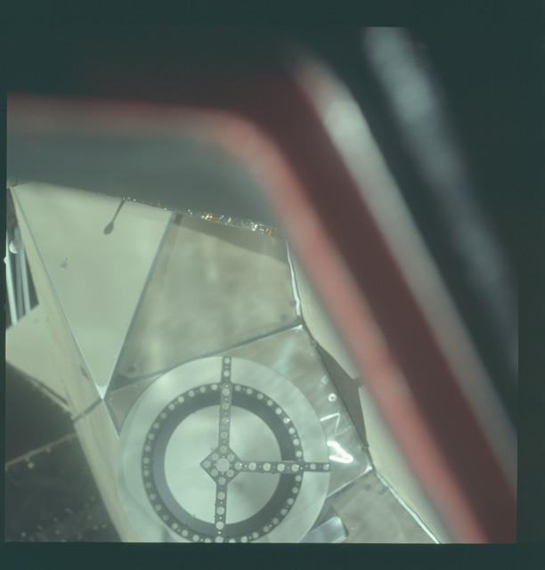 AS11-36-5364 - Apollo 11 - Apollo 11 Mission image - Lunar Module (LM) Docking Target
