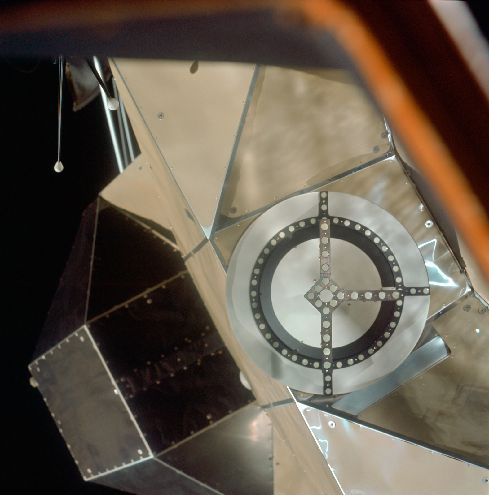 AS11-36-5365 - Apollo 11 - Apollo 11 Mission image - Lunar Module (LM) Docking Target