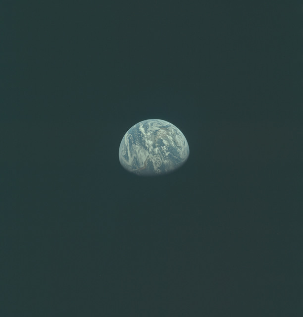 AS11-36-5368 - Apollo 11 - Apollo 11 Mission image - Earth view over North and South America