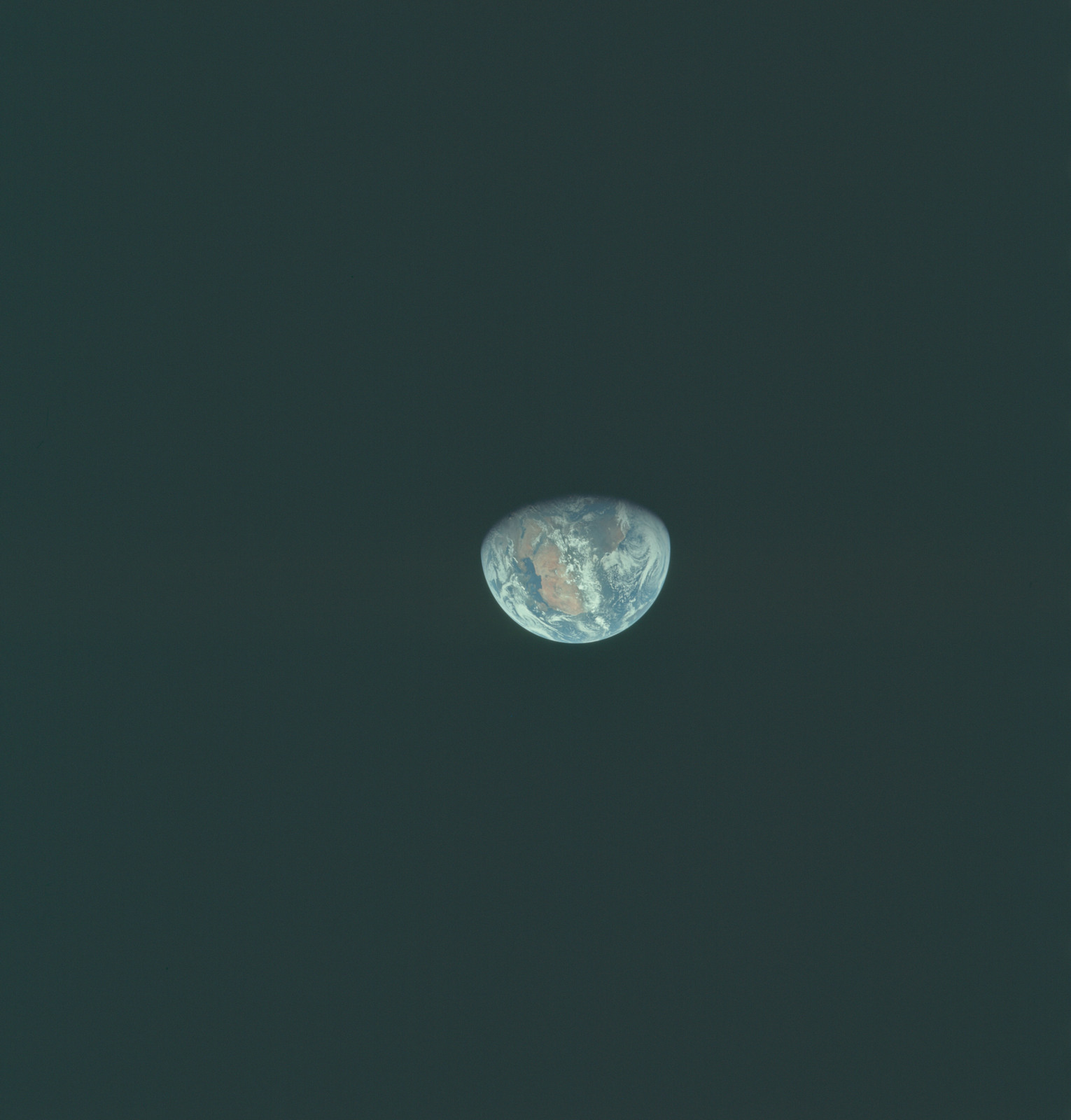 AS11-36-5376 - Apollo 11 - Apollo 11 Mission image - Earth view over Africa