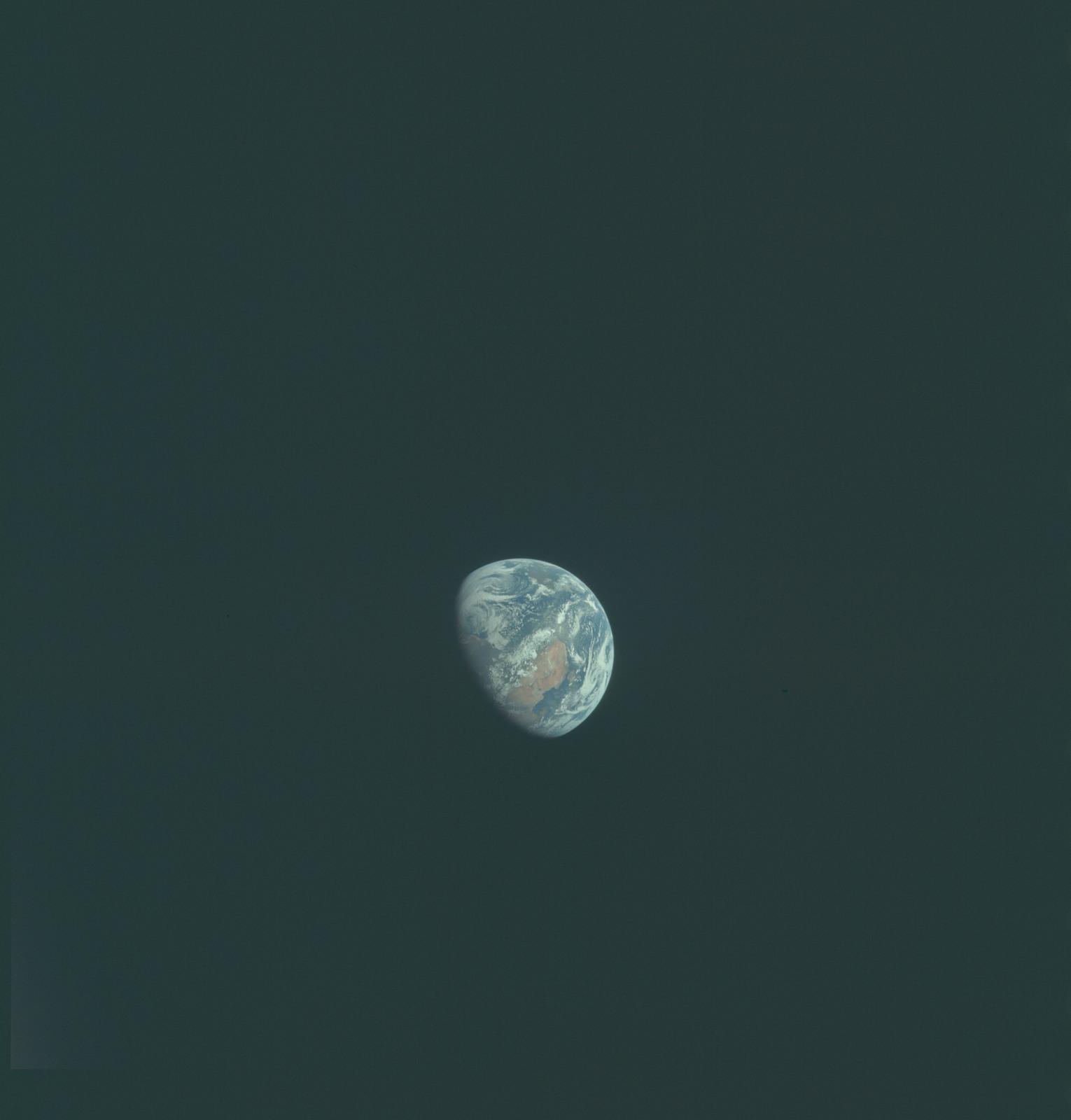 AS11-36-5378 - Apollo 11 - Apollo 11 Mission image - Earth view over Africa