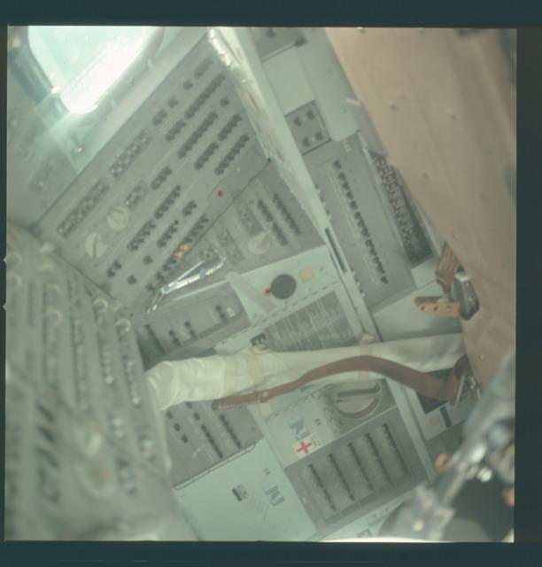 AS11-36-5387 - Apollo 11 - Apollo 11 Mission image - Lunar Module instrument panel