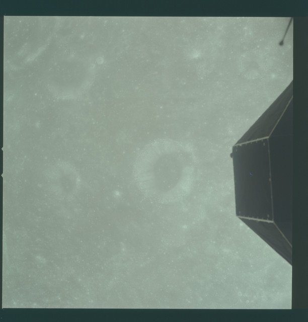 AS11-36-5423 - Apollo 11 - Apollo 11 Mission image - View of Moon, Crater 204