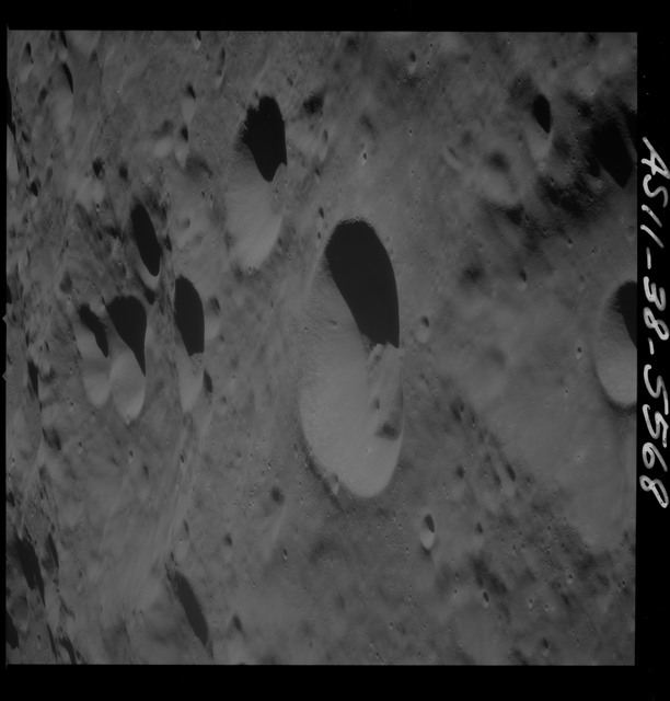 AS11-38-5568 - Apollo 11 - Apollo 11 Mission image - View of Moon, lunar farside