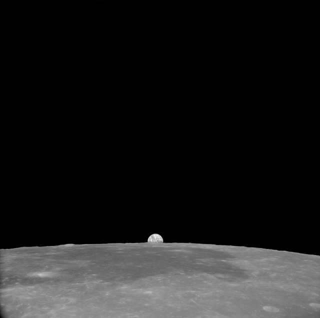 AS11-41-6019 - Apollo 11 - Apollo 11 Mission image - View of Moon, Crater 189