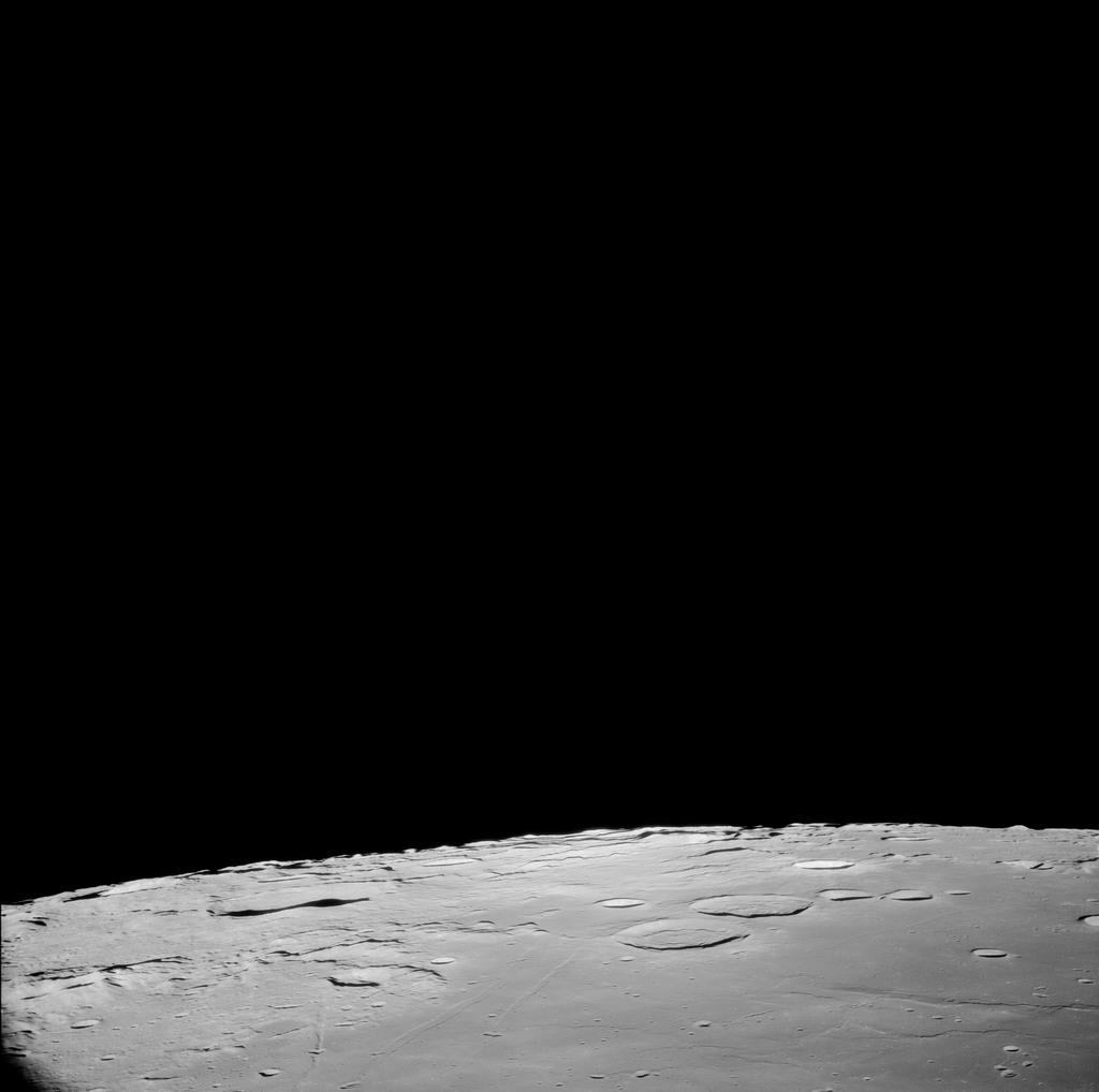 AS11-41-6093 - Apollo 11 - Apollo 11 Mission image - North of TO 115