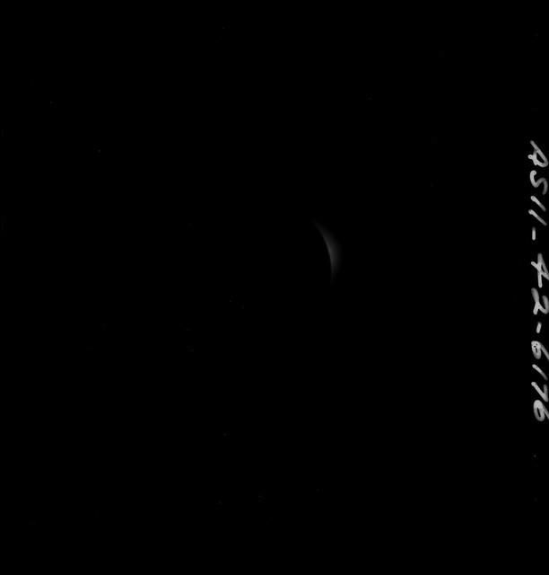 AS11-42-6176 - Apollo 11 - Apollo 11 Mission images - Solar Corona