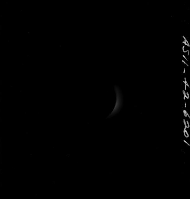 AS11-42-6201 - Apollo 11 - Apollo 11 Mission images - Fraction of the Solar Corona