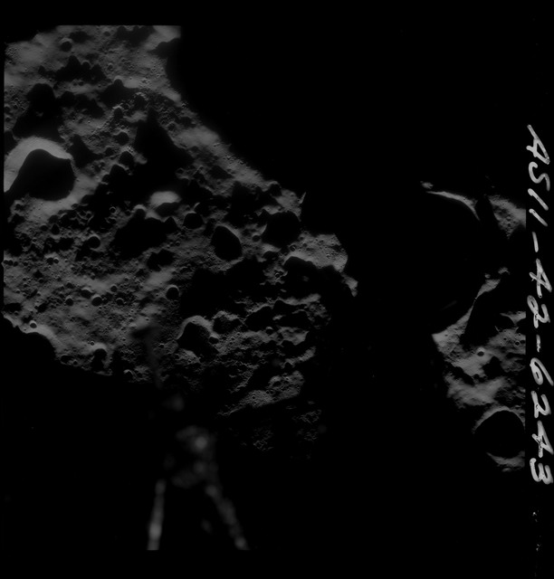 AS11-42-6243 - Apollo 11 - Apollo 11 Mission image - farside terminator