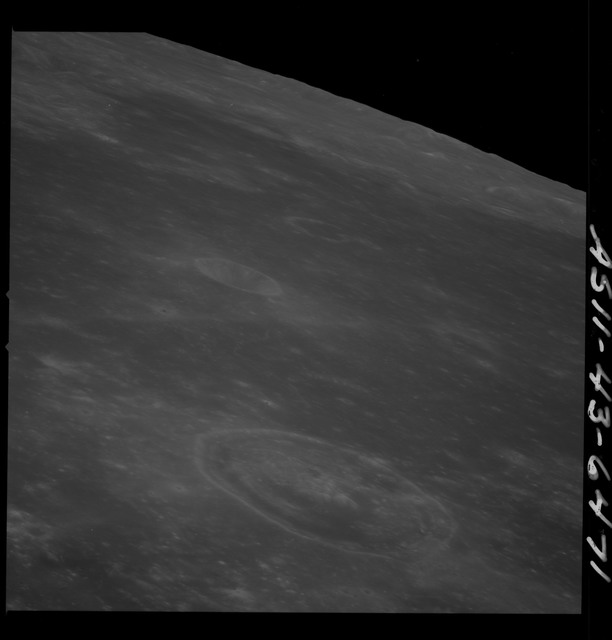 AS11-43-6471 - Apollo 11 - Apollo 11 Mission image - Moon, Smyth's Sea