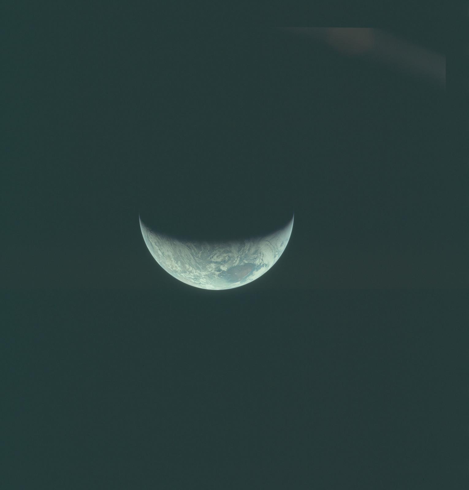 AS11-44-6683 - Apollo 11 - Apollo 11 Mission image - View of Earth