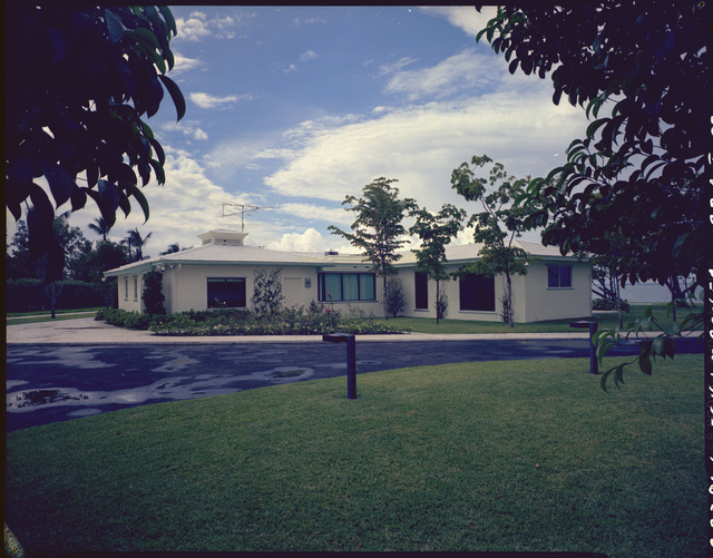 Richard Nixon's Home in Key Biscayne, Florida