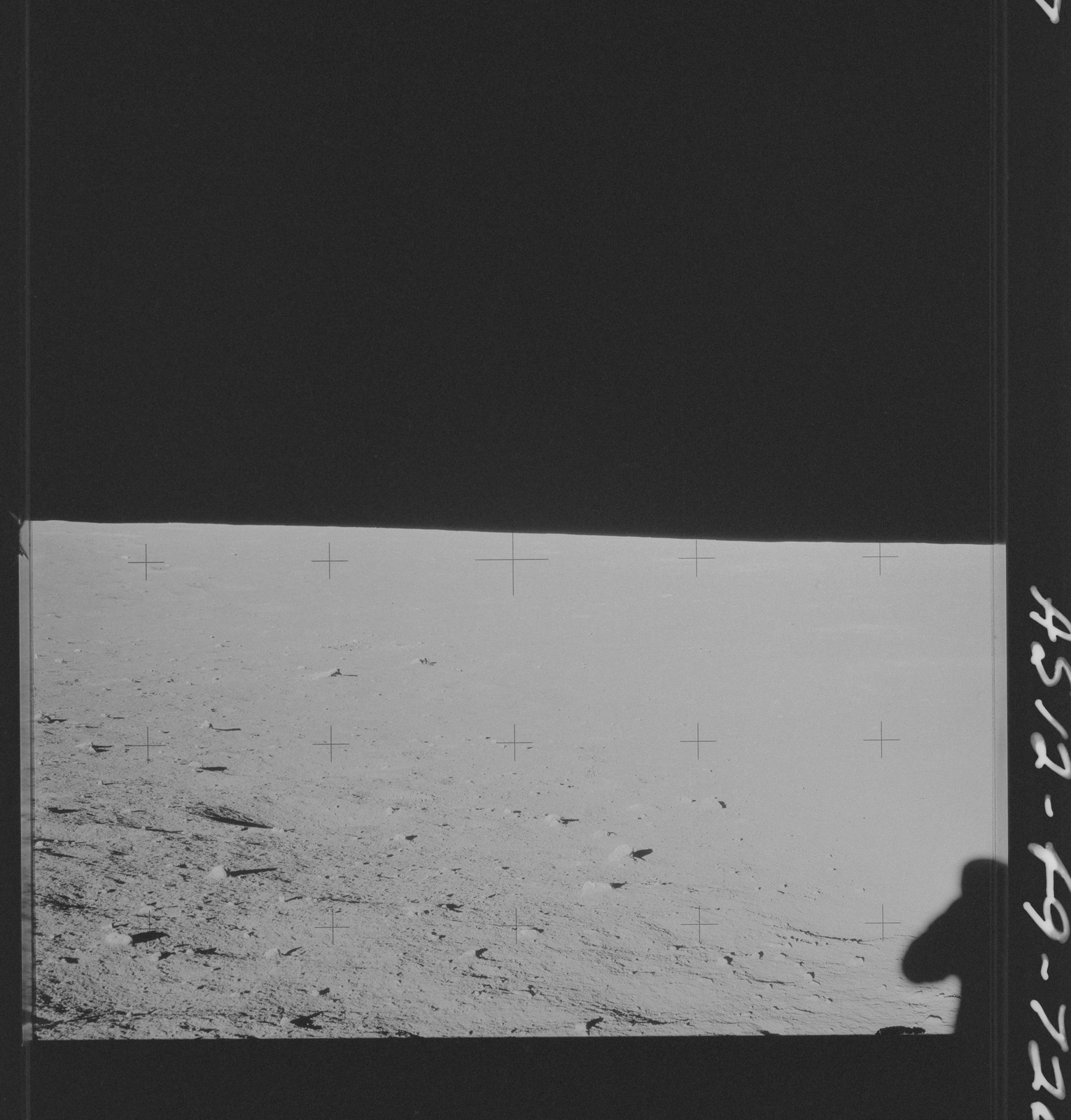 AS12-49-7206 - Apollo 12 - Apollo 12 Mission image  - Lunar Surface