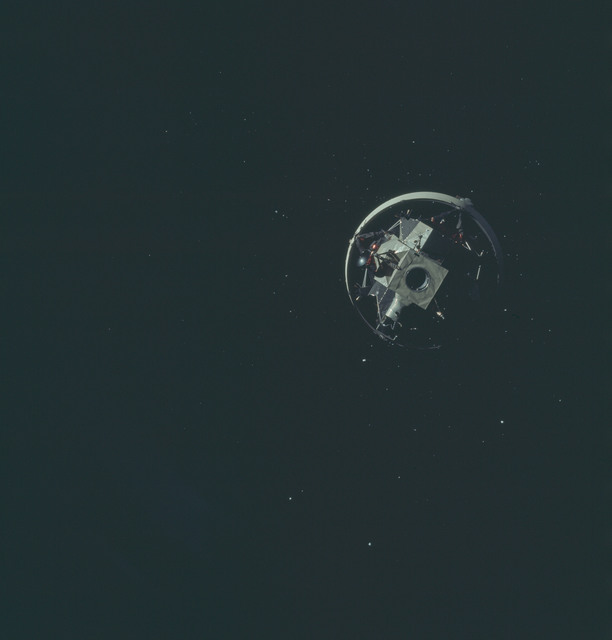 AS12-50-7327 - Apollo 12 - Apollo 12 Mission image  - Parts of United States and Central America.