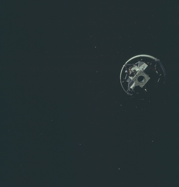 AS12-50-7329 - Apollo 12 - Apollo 12 Mission image  - Parts of United States and Central America.