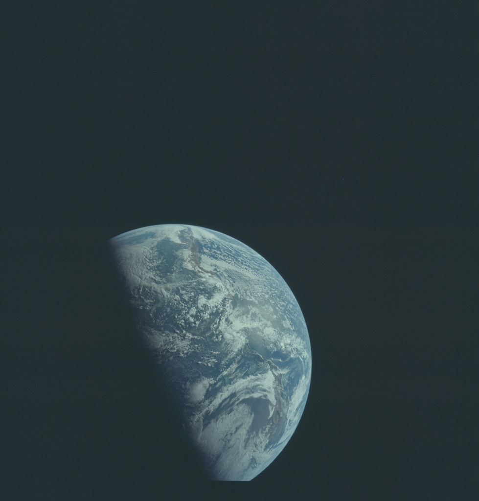 AS12-50-7331 - Apollo 12 - Apollo 12 Mission image  - Earth view - North & South America