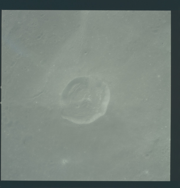 AS12-51-7464 - Apollo 12 - Apollo 12 Mission image  - View of Crater Madler.
